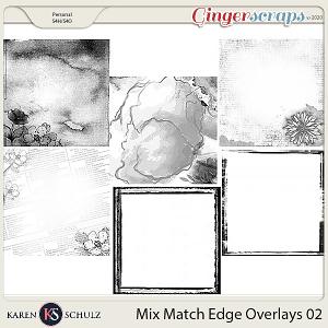 Mix Match Edge Overlays 02 by Karen Schulz