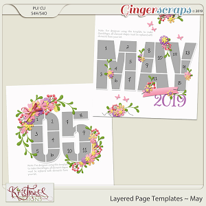 Layered Page Templates ~ May