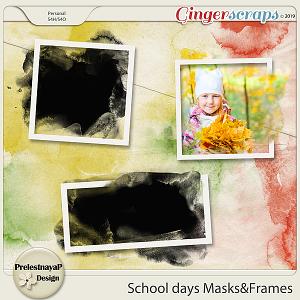 School days Masks&Frames