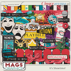 It's Showtime KIT by MagsGraphics