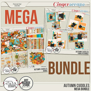 Autumn Cuddles - Mega Bundle - by Neia Scraps and JB Studio