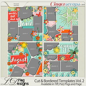 Cut & Bordered Vol.2 by LDrag Designs