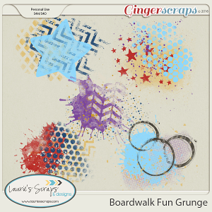 Boardwalk Fun Grunge