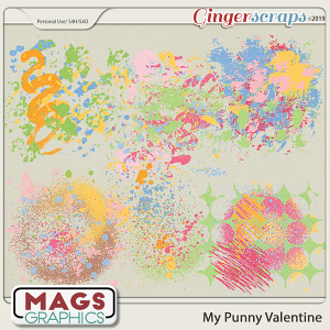 My Punny Valentine HODGE PODGE by MagsGraphics