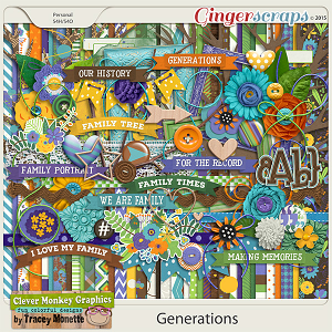 Generations by Clever Monkey Graphics