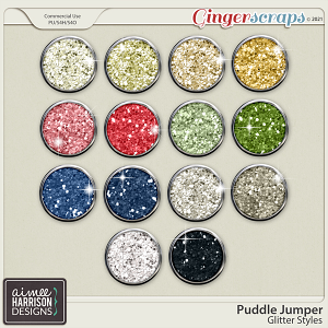 Puddle Jumper Glitters by Aimee Harrison