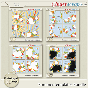 Summer Templates Bundle