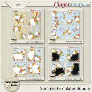 Summer Templates Bundle