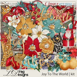 Joy To The World by LDragDesigns
