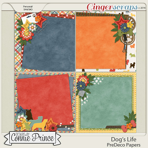 Dog's Life - PreDeco Papers