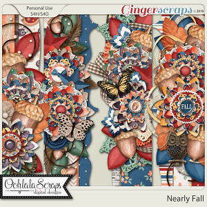 Nearly Fall Page Borders