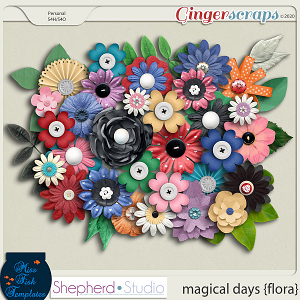 Magical Days Flora Add On by Miss Fish and Shepherd Studios