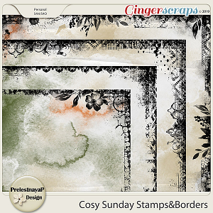 Cosy Sunday Stamps&Borders