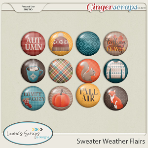 Sweater Weather Flairs