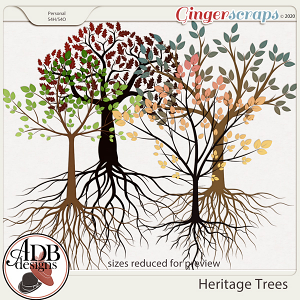Heritage Resource - Heritage Trees by ADB Designs