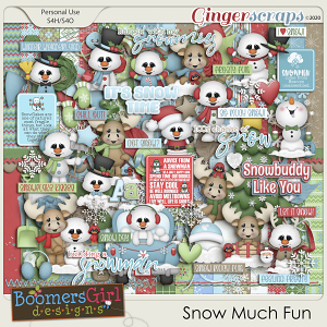 Snow Much Fun by BoomersGirl Designs