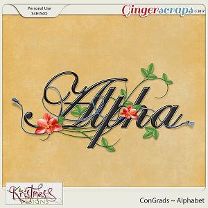 ConGrads Alphabet