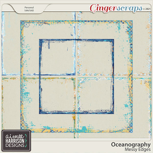 Oceanography Messy Edges by Aimee Harrison