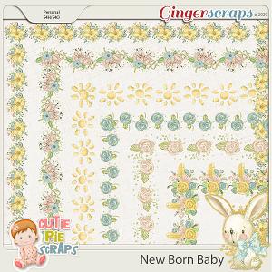 New Born Baby Fancy Border