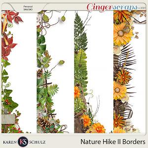 Nature Hike II Borders by Karen Schulz