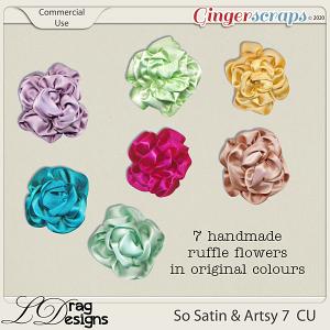 So Satin & Artsy 7 CU by LDragDesigns