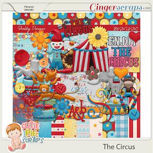 The Circus Digital Scrapbook Kit