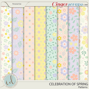 Celebration Of Spring Patterns by Ilonka's Designs