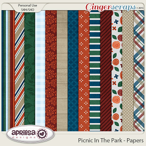Picnic In The Park - Papers by Aprilisa Designs