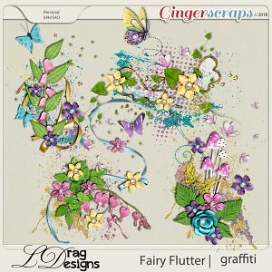 Fairy Flutter: Graffiti by LDragDesigns