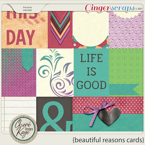 Beautiful Reasons Cards by Chere Kaye Designs