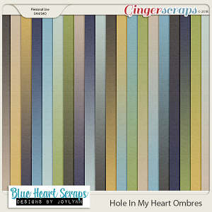 Hole In My Heart Ombre Paper Pack