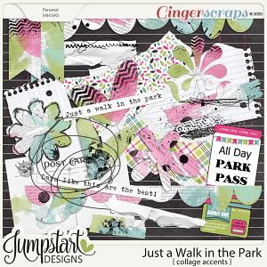 Just a Walk in the Park {Collage Accents} Jumpstart Designs