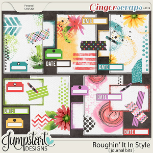 Roughin' It In Style {Journal Bits} by Jumpstart Designs