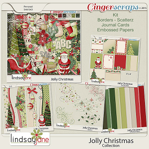 Jolly Christmas Collection by Lindsay Jane