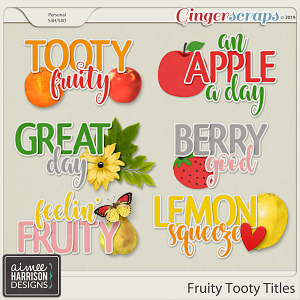 Fruity Tooty Titles by Aimee Harrison
