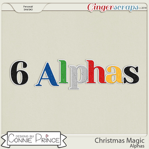 Christmas Magic - Alpha Pack AddOn by Connie Prince