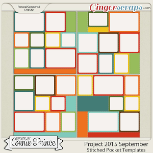 Project 2015 September - Stitched Pocket Templates