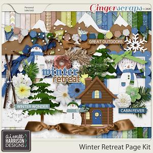 Winter Retreat Page Kit by Aimee Harrison