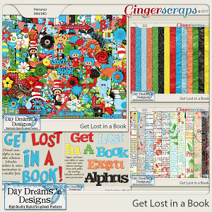 Get Lost in a Book {Bundle Collection} by Day Dreams 'n Designs