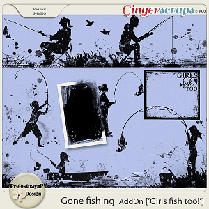 Gone fishing AddOn [Girls fish too]