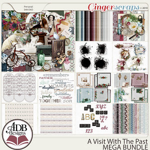 A Visit With The Past Mega Bundle by ADB Designs