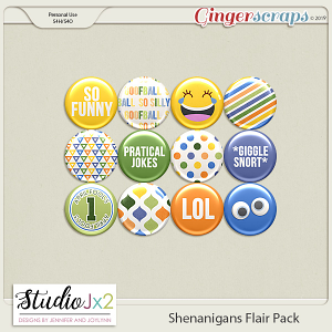 Shenanigans Flair Pack