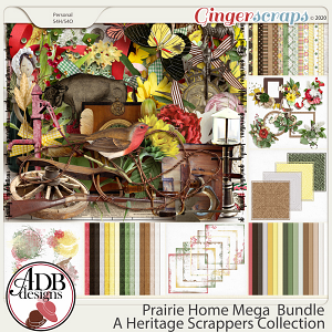 Prairie Home Bundle by ADB Designs