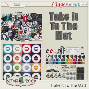 Take It To The Mat kit by Scraps N Pieces