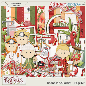 Booboos & Ouchies Page Kit