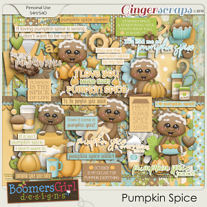 Pumpkin Spice by BoomersGirl Designs