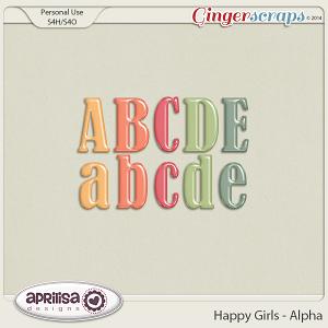 Happy Girls - Alpha by Aprilisa Designs
