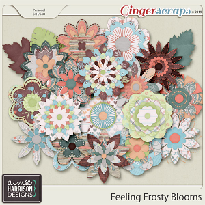 Feeling Frosty Blooms by Aimee Harrison