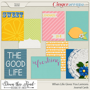 When Life Gives You Lemons | Journal Cards