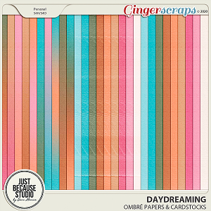 Daydreaming Ombré Papers & Cardstocks by JB Studio